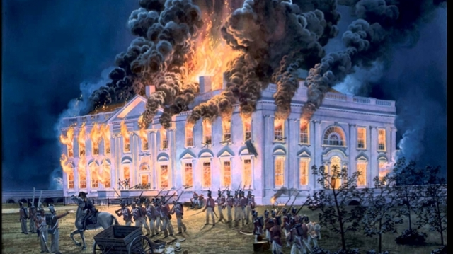 Britain Captures Washington D.C. and Burns Down The White House