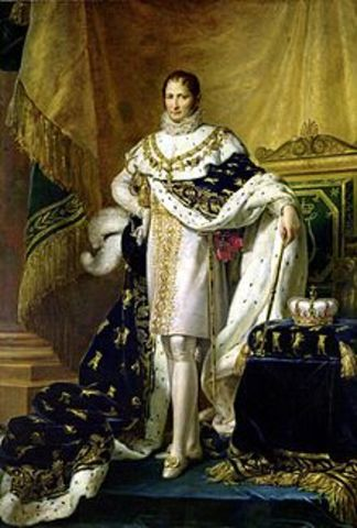 Joseph Bonaparte become King of Spain