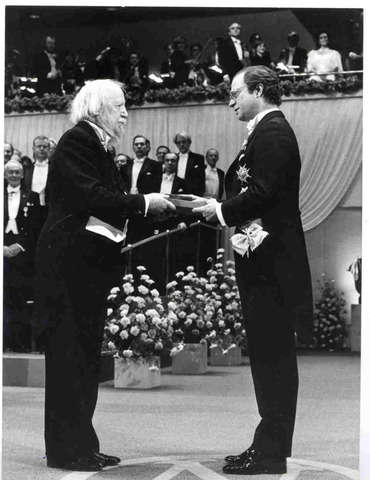 Golding Receives the Nobel Prize
