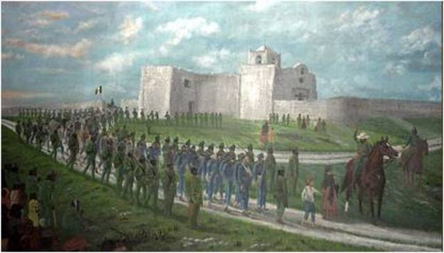 an analysis of the massacre at goliad during the texas rebellion Goliad massacre (27 march 1836) as part of the mexican invasion of texas in early 1836, antonio lopez de santa anna and his main force of at least 5000 men followed an inland route toward san antonio.