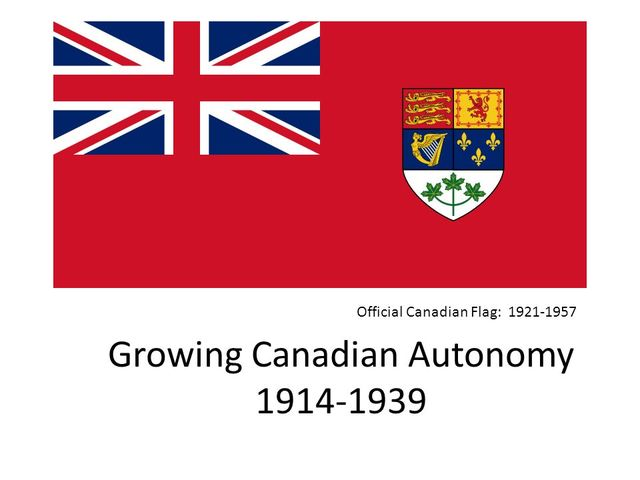 autonomy of canada Canada's road to autonomy during the 1920s, canada took some major steps toward full autonomy (complete control over its own affairs), canada's path to autonomy was different from the one the united states had taken in 1776, the united states gained its independence from britain after a bloody.
