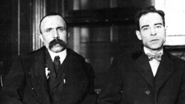 the details of the murder case against italian anarchists sacco and vanzetti in 1920