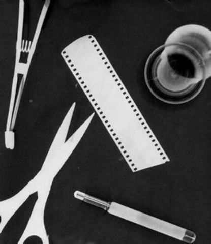 Man Ray Makes Photograms