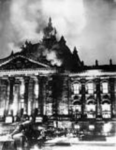 Reichstag fire of February 1933