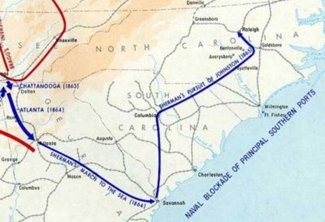 Civil War 1865 Timeline Timetoast Timelines