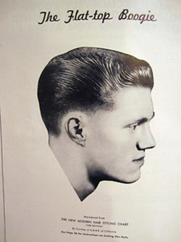 classic hairstyles for men poster