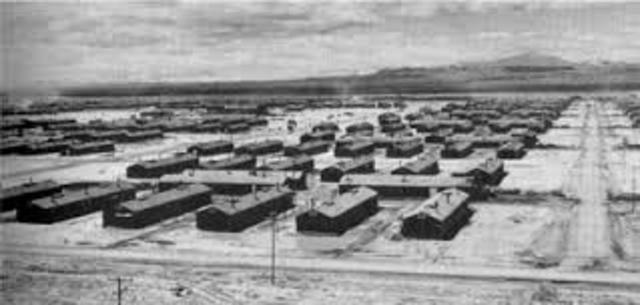 description of japanese internment camps essay