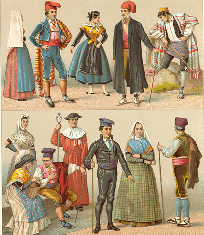 Spanish Style Clothing Th Century Women
