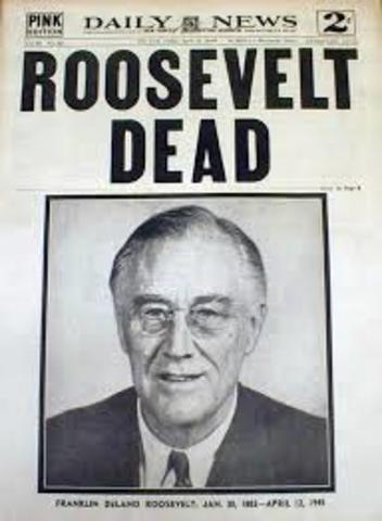 roosevelt vs truman The us president roosevelt died in 1945 he was replaced by truman who was  strongly anti-communist and, as the war came to an end, the relationship.