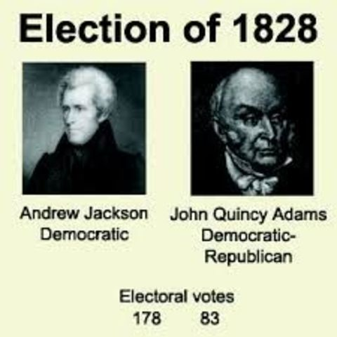 andrew jackson was president from 1828 Jacksonian democracy and andrew jackson rose to national prominance as a general during the war of 1812 the presidential election of 1828 brought a great.