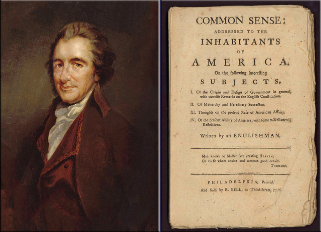 an analysis of thomas paines pamphlet common sense This lesson looks at thomas paine and at some of the ideas presented in his pamphlet common sense scott liell's thomas paine, common sense  critical analysis.