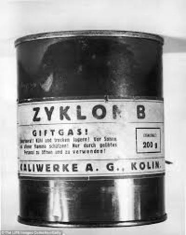 ZYkLON B IS BEING TESTED