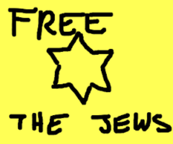 THE JEWS ARE FREE AT LAST