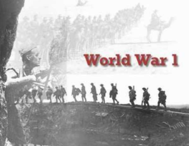 a history of leadership in the world war i