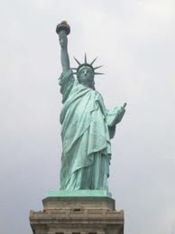 Dedication of Statue of Liberty
