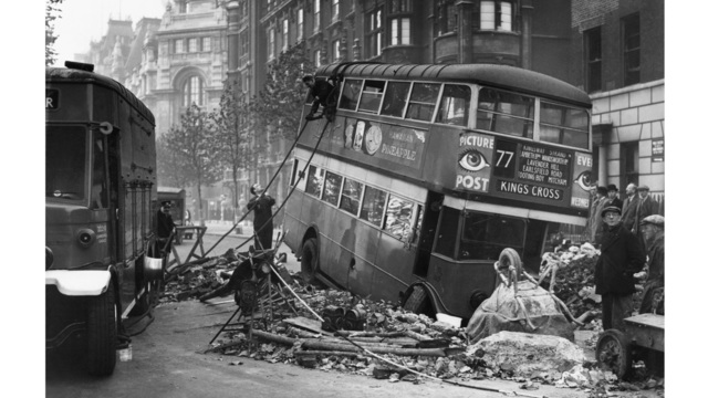 German bombing of London