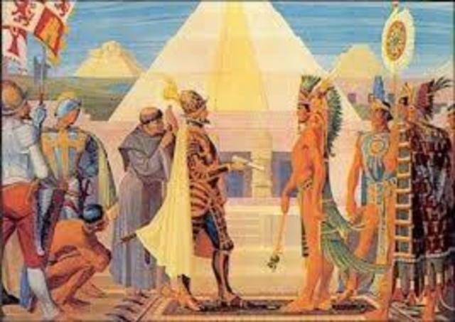 a history of the aztecs in south america