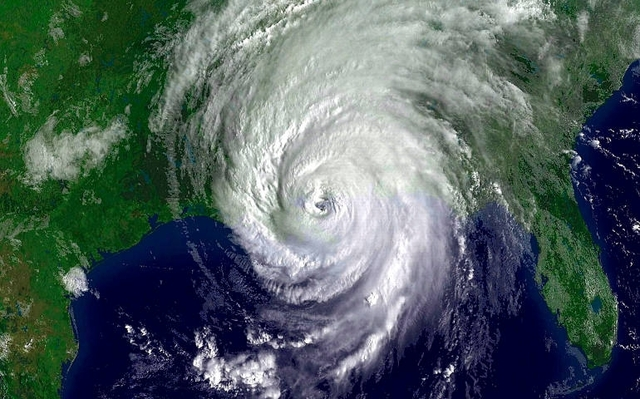 Hurricane Katrina devestated the gulf of Mexico's bordering southern states.