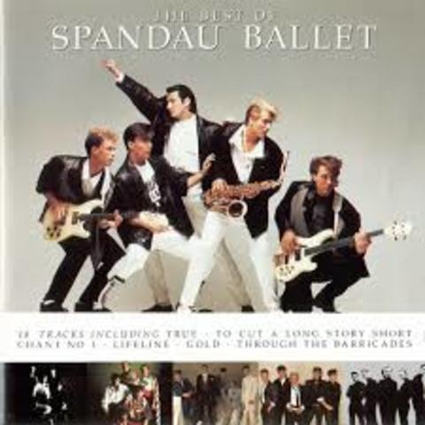 1990 - Spandau Ballet - Pop Rock -  Song: Gold