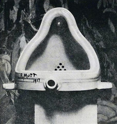 """Fountain"" - Duchamp"