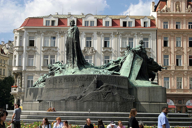 Jan Hus Monument, Ladislav Šaloun