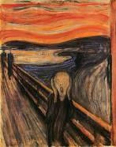 The Scream(Expressionism)