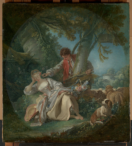The Interrupted Sleep(Rococo)
