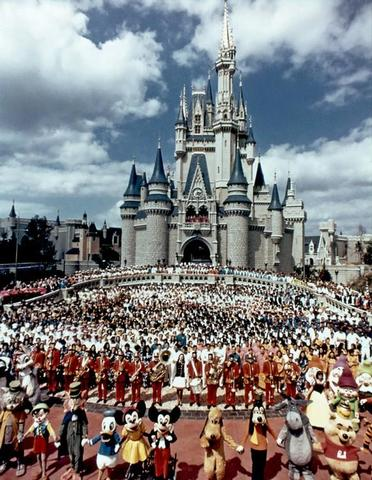 Grand Opening of Disney World pt.1