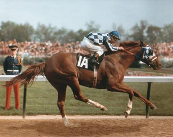 Secretariat Wins Triple Crown pt.1