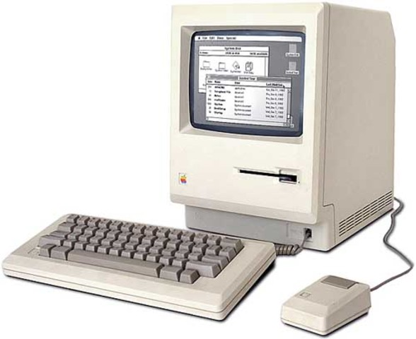 The first Macintosh Computer