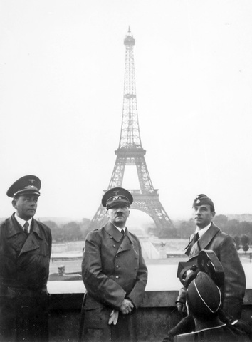 Germany invaded France and captured Paris