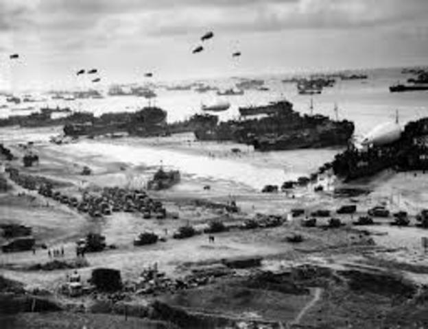 D-Day Invasion to Begin the Liberation of Western Europe