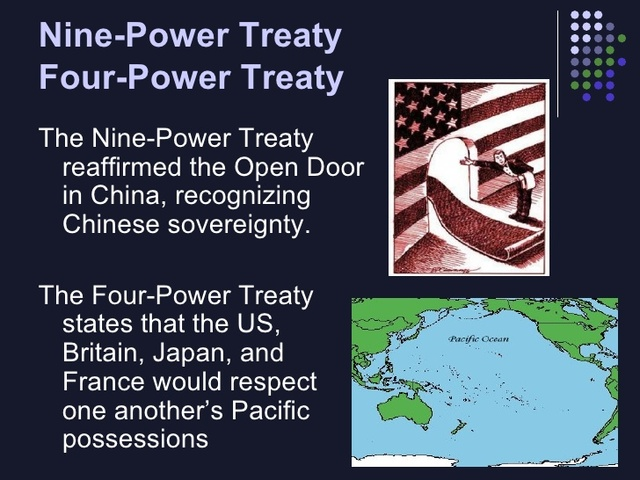 FEB 6, 1922 9 Power Treaty