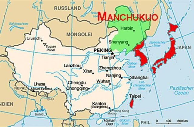 Mukden incident and invasion of Manchurri