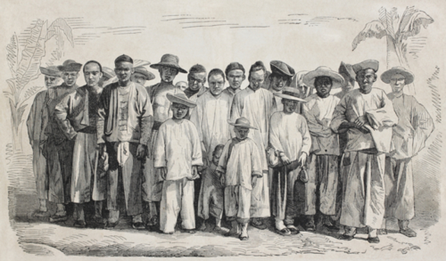 chinese immigration and the building of Chinese immigration and the chinese exclusion acts in the 1850 s, chinese workers migrated to the united states, first to work in the gold mines, but also to take agricultural jobs, and factory work, especially in the garment industry.