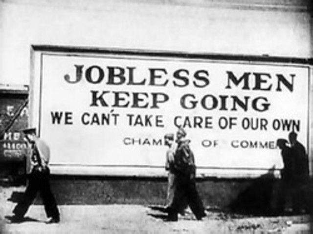 The Start of The Great Depression