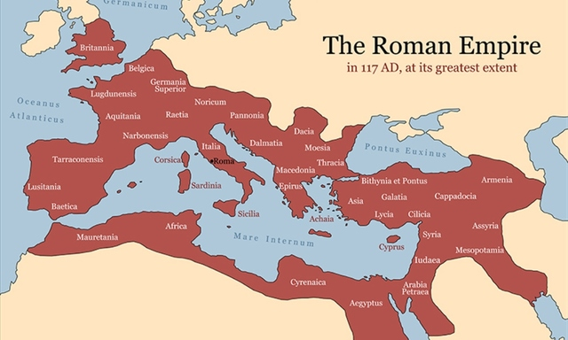 an analysis of the fall of the rome within its borders