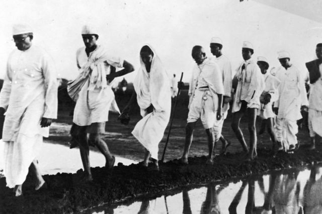 Start of Gandhi's Salt March