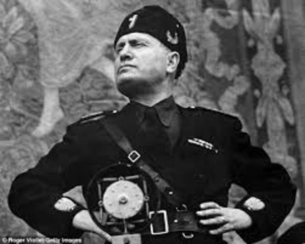 Mussolini becomes Italian Prime Minister