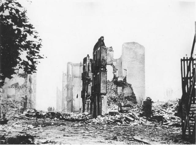 Guernica bombed by Spanish Nationalist