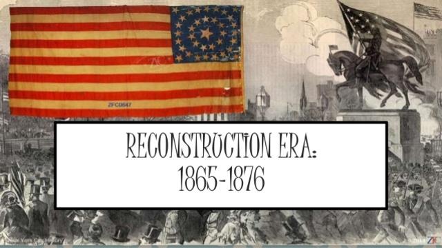 Reconstruction Era Timeline Timetoast Timelines