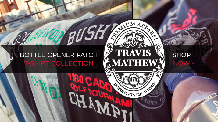 TravisMathew Bottle Patch Collection