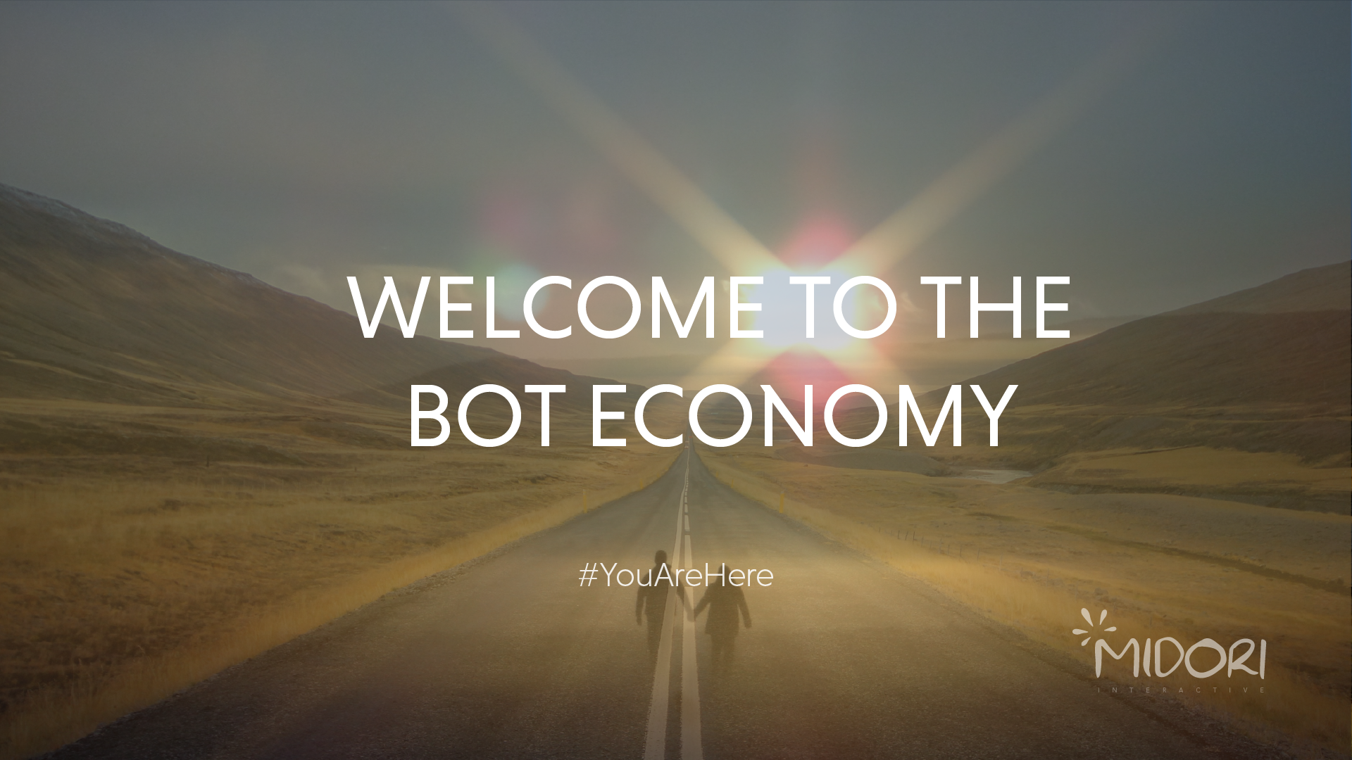 Welcome to the bot economy #YouAreHere