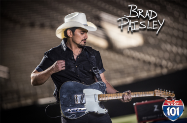 Register for a chance to win tickets to see Brad Paisley in Knoxville on Feb. 22nd!