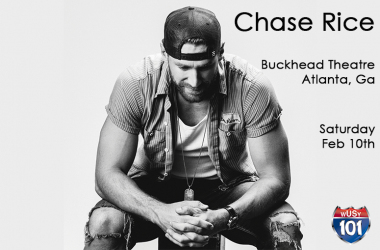 Register to win tickets to see Chase Rice in Atlanta!
