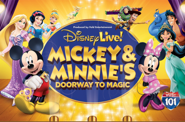 Register to win Disney Live tickets!
