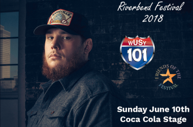 Luke Combs at Riverbend