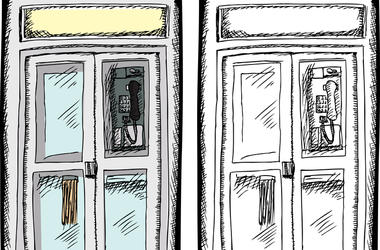 Phone Booth Sketch