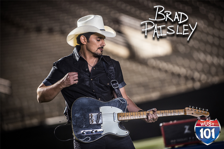 Listen to Ken, Kelley and Daniel for a Chance to win Brad Paisley Tickets!