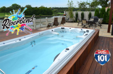 Michael Phelps Swim Spa VIP Experience to Riverbend